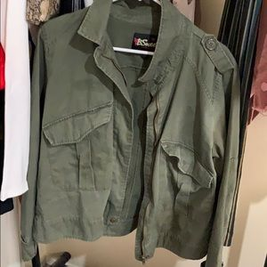 Green army green jacket brand new
